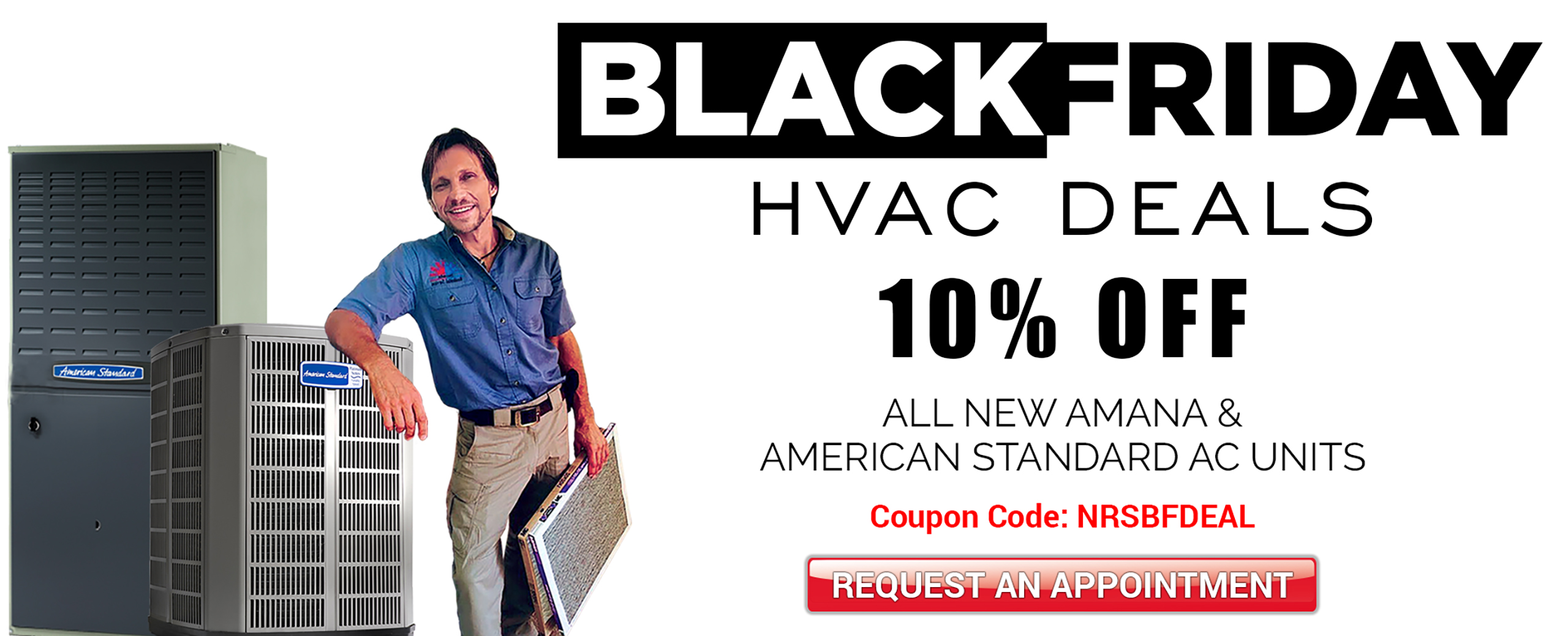 Black Friday HVAC deals in las-vegas - 10% off on New AC Installation