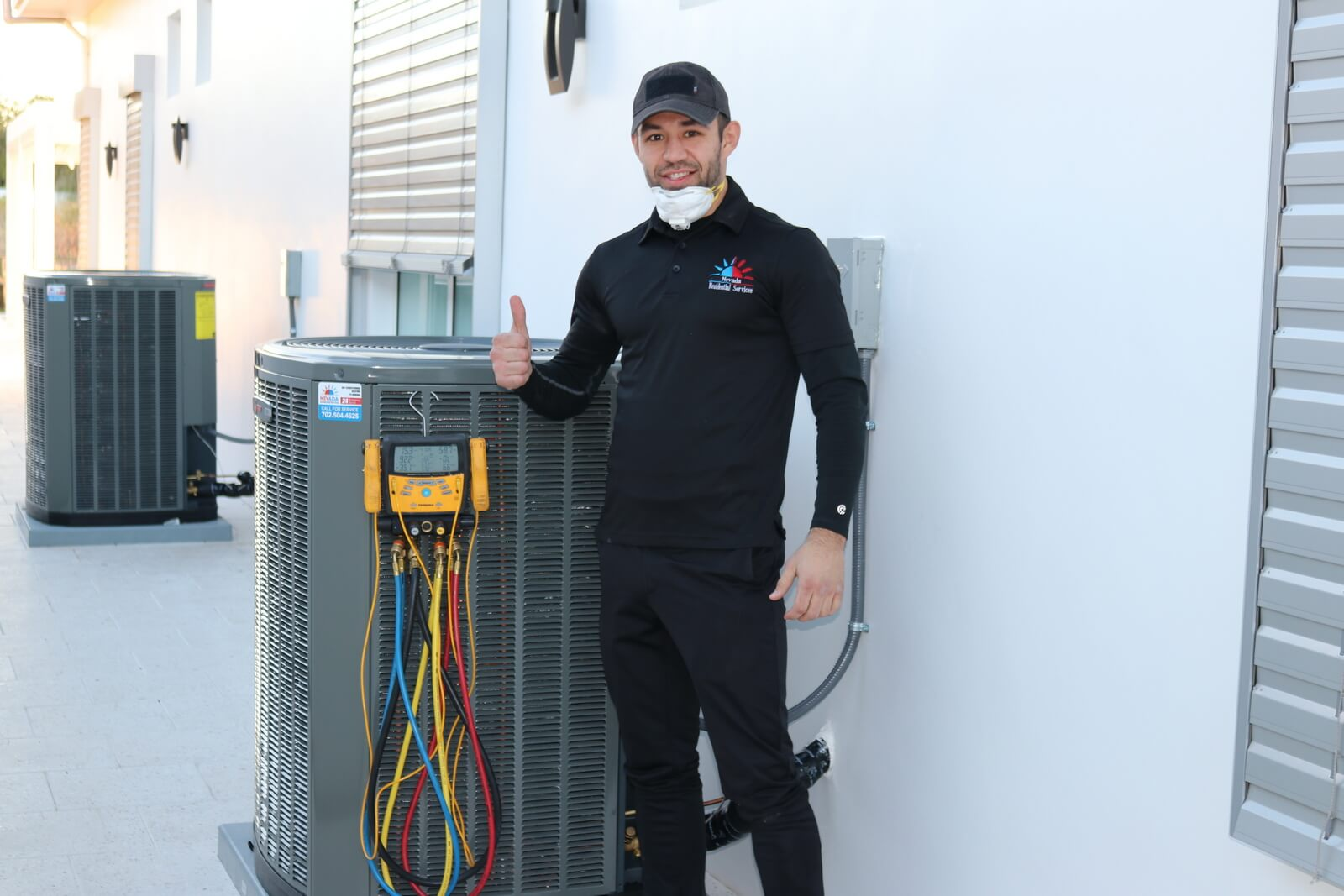 We provide AC maintenance in Las Vegas