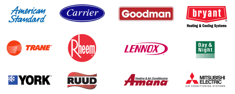 Air Conditioning Brands we Service