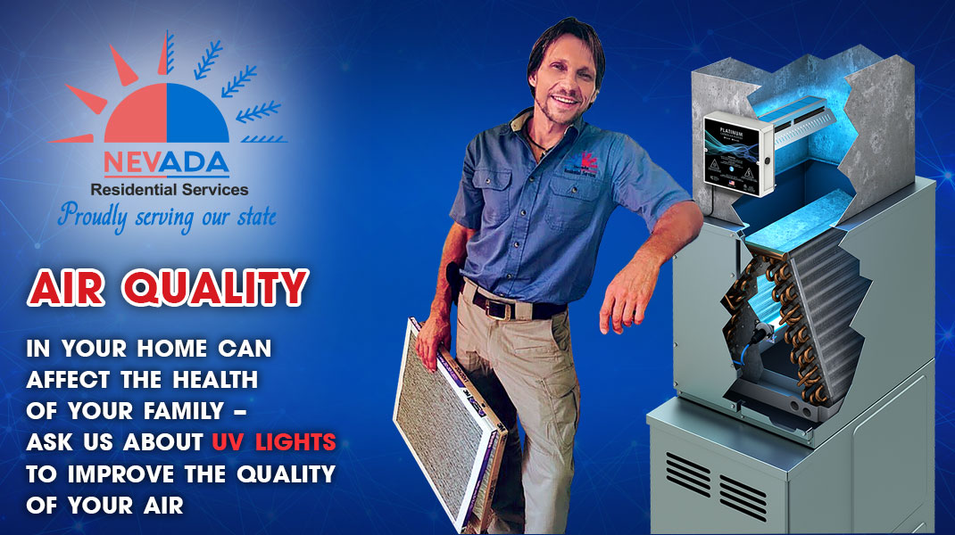Air Quality & UV lights for HVAC Installation Service