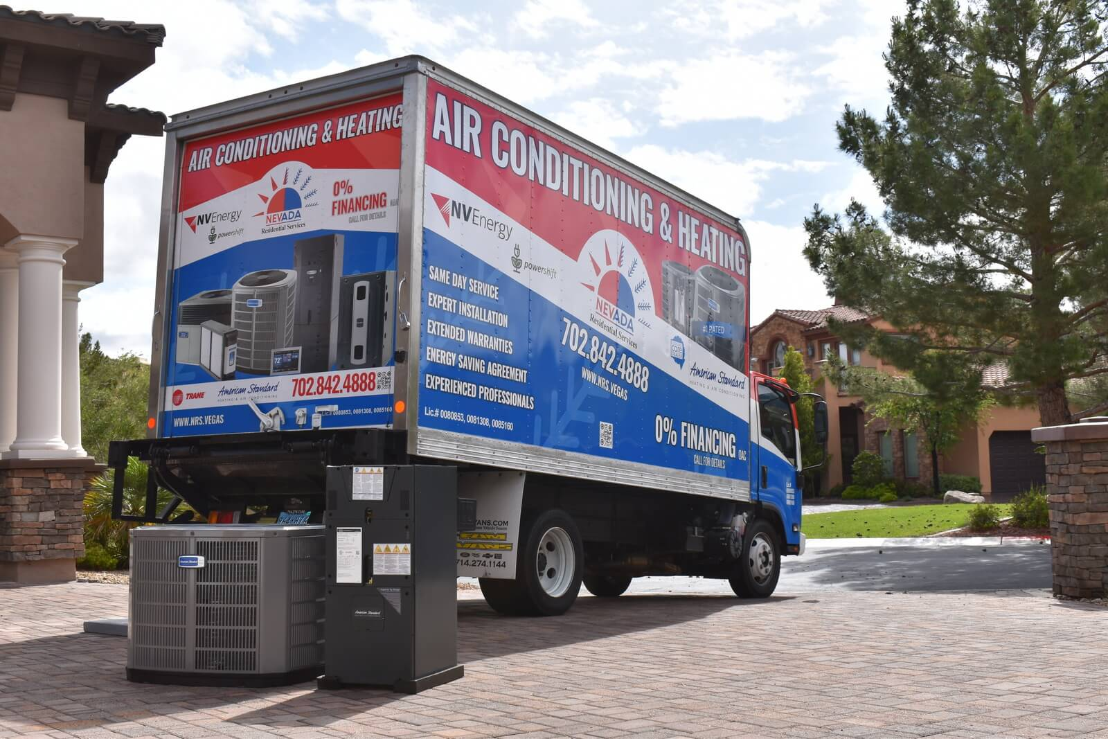 Central Air Conditioning Systems Installation Service