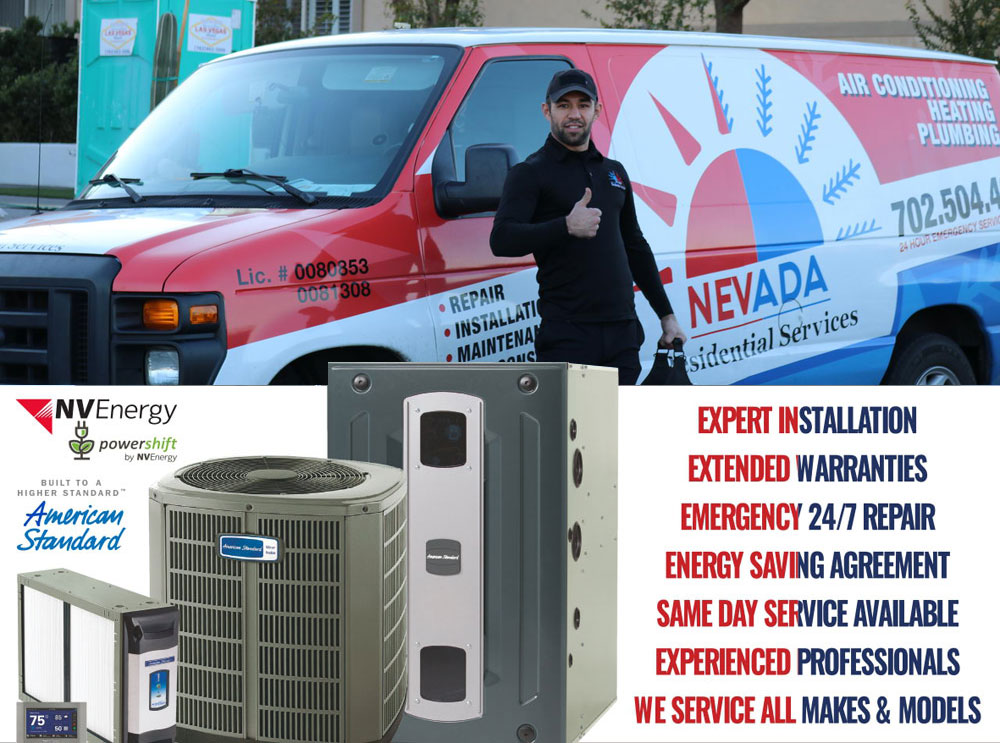 Air Conditioning company – Residential HVAC repair in Henderson