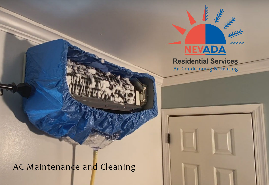 AC Maintenance and cleaning after winter in Henderson