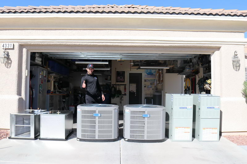 Buy a new AC and Heating unit in Henderson