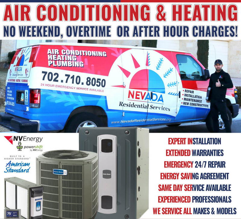 Air Conditioning company – Residential HVAC repair in Las Vegas