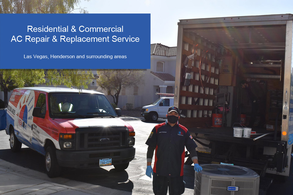 Residential & Commercial Air Conditioning Repair Services in Las Vegas