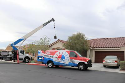 New AC Installation in Las Vegas Summerlin, July 2019
