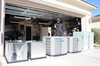 New Central Air Conditioning Units - we provide AC installation on all makes and models