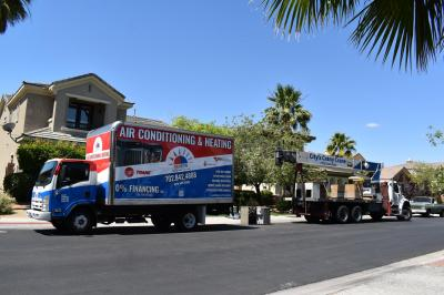 Las vegas AC installation service - new AC unit installation in North Las Vegas