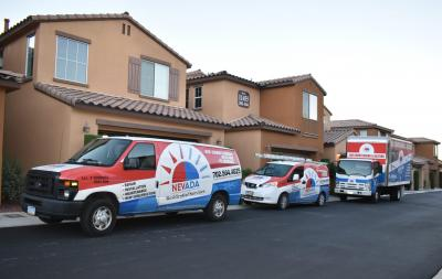 NRS AC Repair & installation company - our vehicle fleet