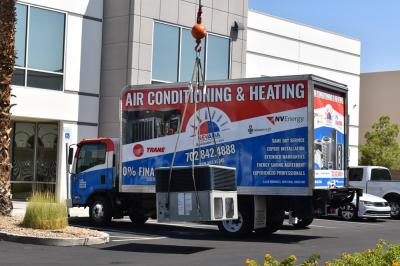Rooftop AC installation in las vegas (commercial & residential)