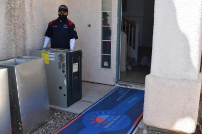HVAC Replacement services in Las Vegas. Financing available!