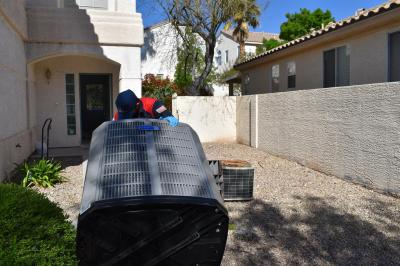 Residential 5 ton AC unit Replacement in Las Vegas North, NV