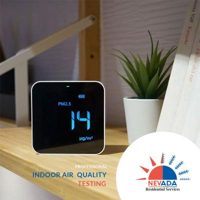 Professional Indoor Air Quality Testing & Improvement by Nevada Residential Service Air Quality Experts