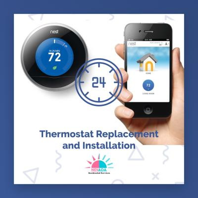 Thermostat Replacement and Installation in Las Vegas & Henderson, NV